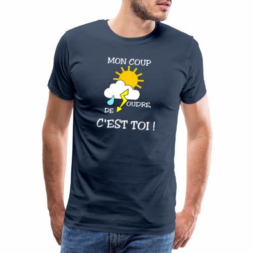 Mon coup de foudre - T-shirt Premium Homme
