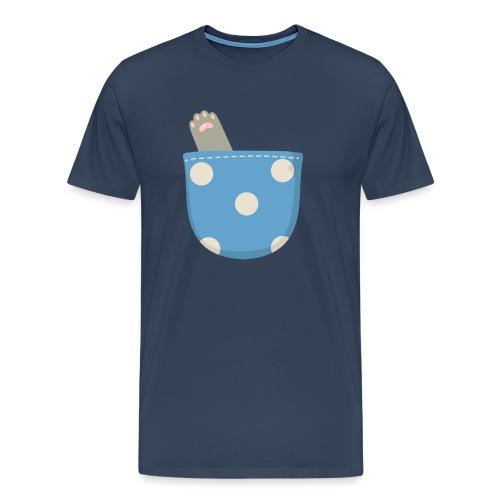 Garra en bolsillo - Camiseta premium hombre