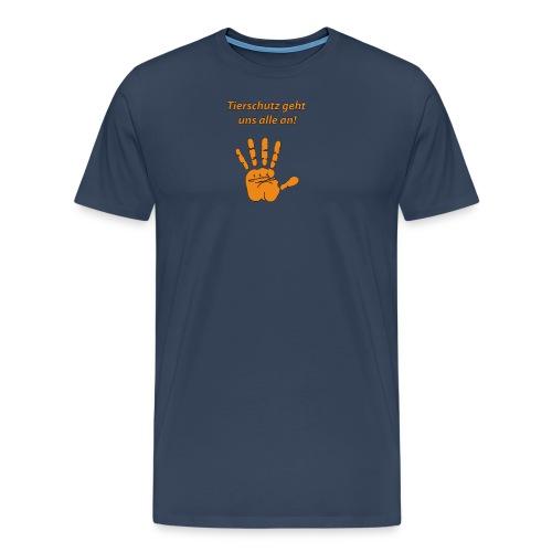 Tierschutz geht uns alle an - Männer Premium T-Shirt