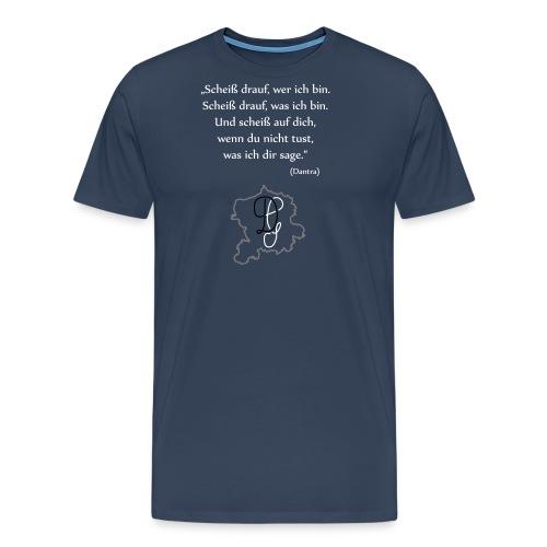 zitat 2 - Männer Premium T-Shirt