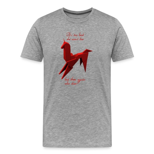 UnicornioBR2 - Camiseta premium hombre
