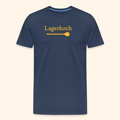 Lagerkoch Löffel - Männer Premium T-Shirt
