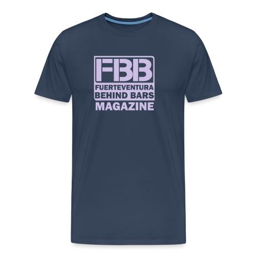 FBB logo (black) - Men's Premium T-Shirt