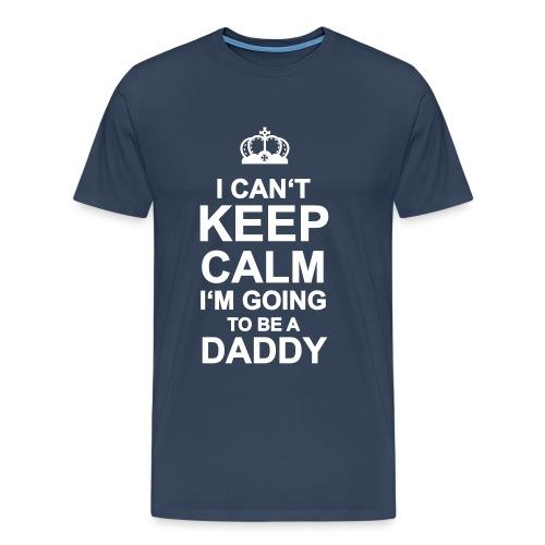 KEPP CALM DADDY - Männer Premium T-Shirt