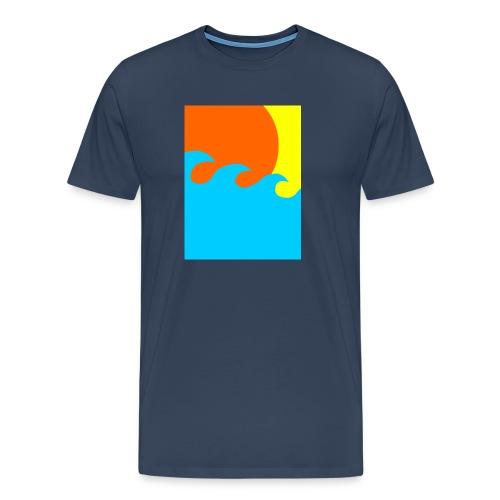 sun - Mannen Premium T-shirt