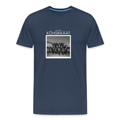 Könsikkäät - joulu saarella - Miesten premium t-paita