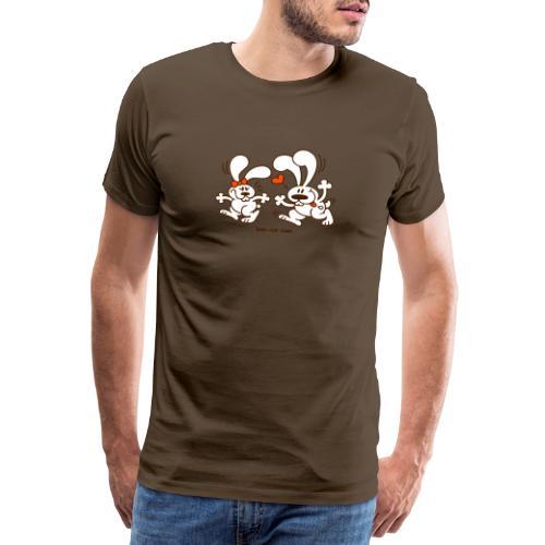 Hot Bunnies - Men's Premium T-Shirt