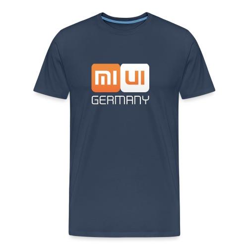 MIUI Ger Logo Kompakt png - Männer Premium T-Shirt