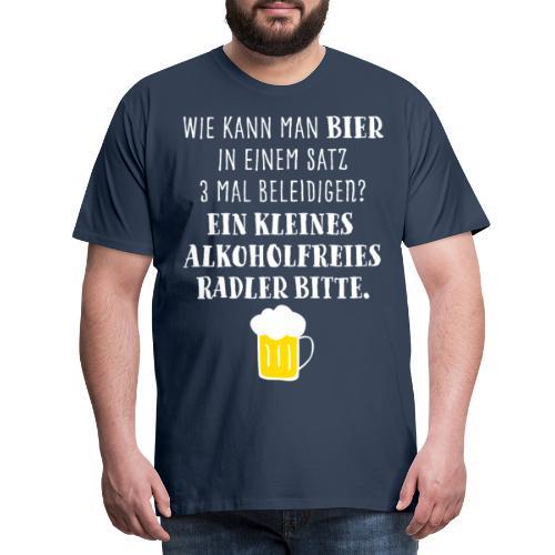Bier T Shirt Geschenk Biergeschenke Männer - Männer Premium T-Shirt