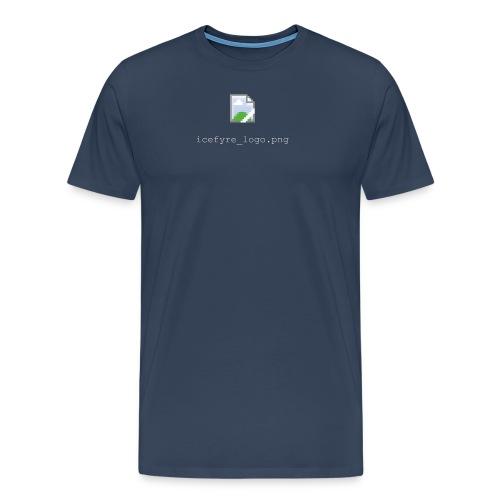 Icefyre Broken Logo (w) - Männer Premium T-Shirt