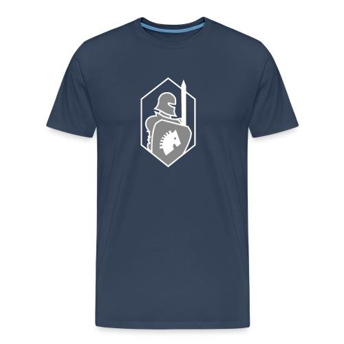 Red team, blue team - Mannen Premium T-shirt