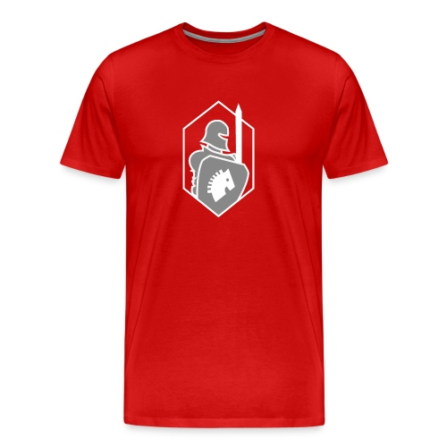 Red team, blue team - Mannen Premium T-shirt