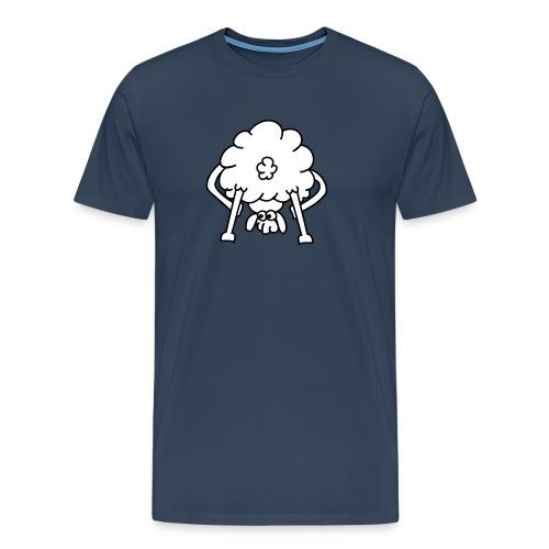 schaf von hinten - Männer Premium T-Shirt