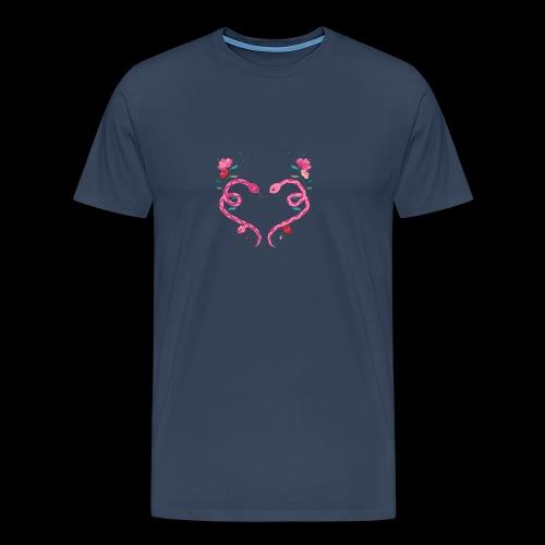 Coeur de serpents - T-shirt Premium Homme