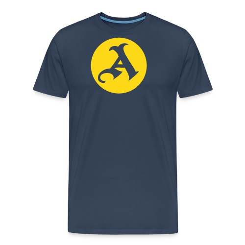 Classic A circle - Men's Premium T-Shirt