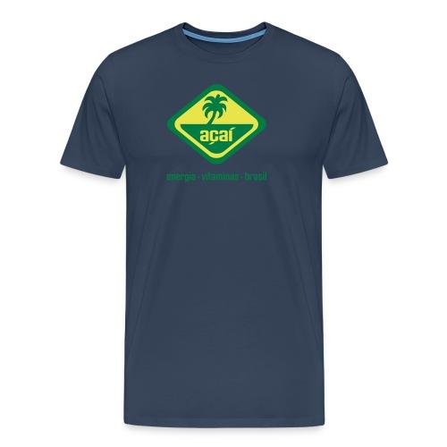 acai_logo - Männer Premium T-Shirt
