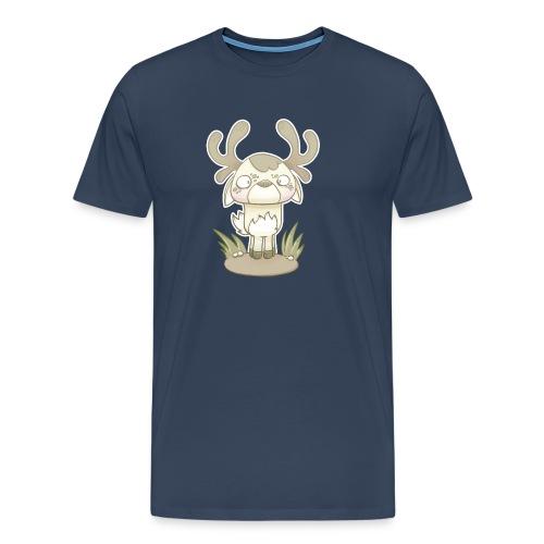 kawaii cerf - T-shirt Premium Homme