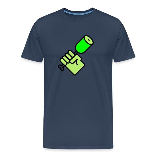 BBQ with Hulk - Männer Premium T-Shirt