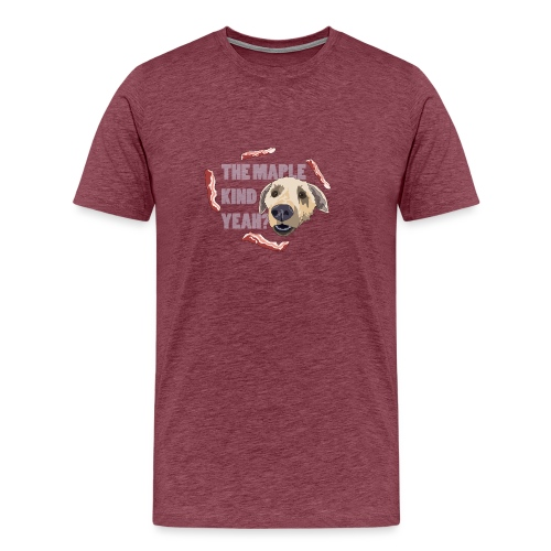 dogmaple4 - Men's Premium T-Shirt