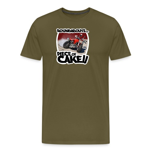 Ducati Monster Skidding - Camiseta premium hombre