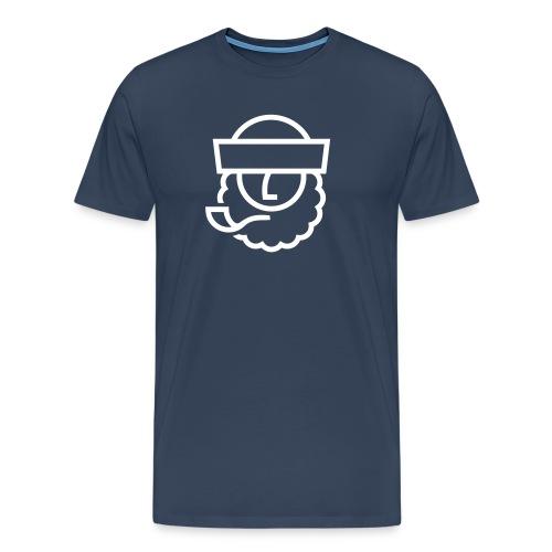Captain Seebär - Männer Premium T-Shirt