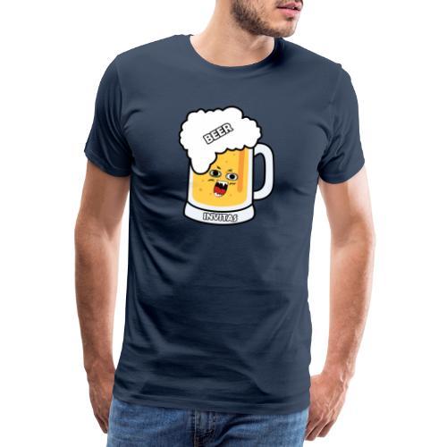 BEER INVITAS - Camiseta premium hombre