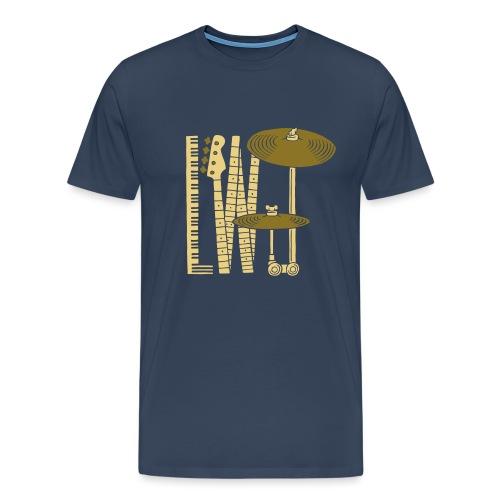 L Wood Joy T Shirt - Herre premium T-shirt