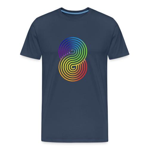 new logo vertical large png - Men's Premium T-Shirt