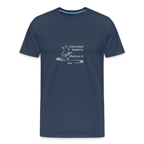 EARheine Logo weiss - Männer Premium T-Shirt