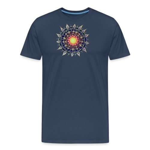 SoulArt-Mandala Neues Leben - Männer Premium T-Shirt