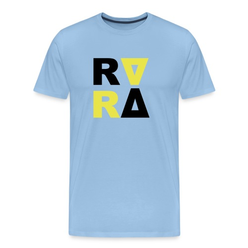 rira logo2 schwarz - Männer Premium T-Shirt