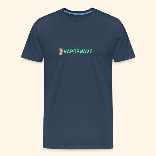 Roman Statue Vaporwave - T-shirt Premium Homme