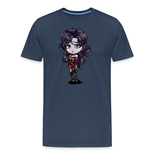 Cute Chibi Girl - T-shirt Premium Homme