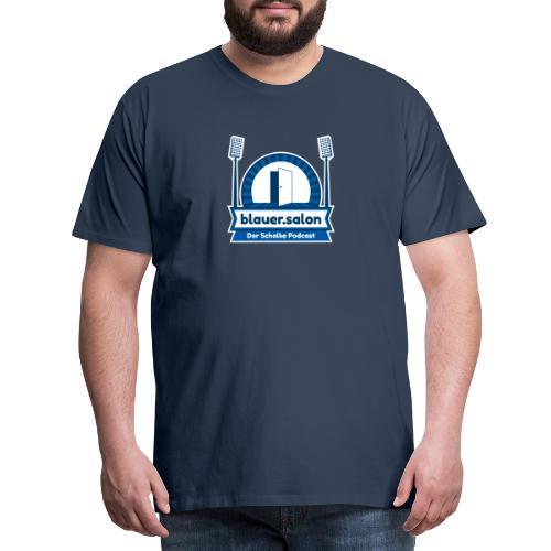Blauer.Salon Logo Classic - Männer Premium T-Shirt