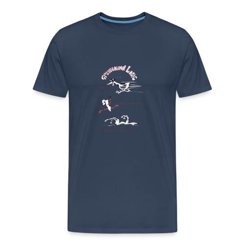 Greyhound Logic - Men's Premium T-Shirt