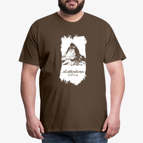 Matterhorn - Cervino - Men's Premium T-Shirt