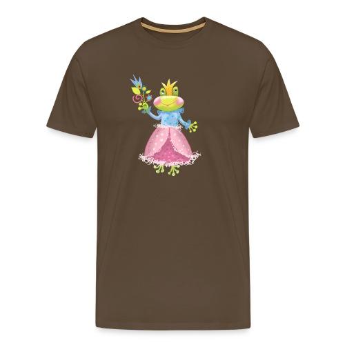 Prinzessin Frosch - Männer Premium T-Shirt
