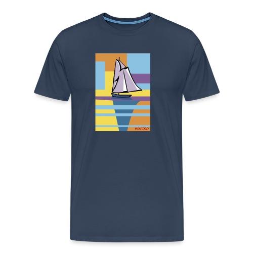 Au large, aube - T-shirt Premium Homme