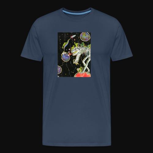 Destruction d'astéroïde - T-shirt Premium Homme