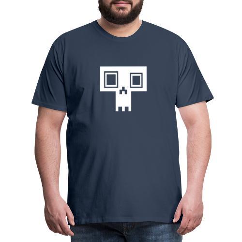 4030 Digital Scull - Men's Premium T-Shirt