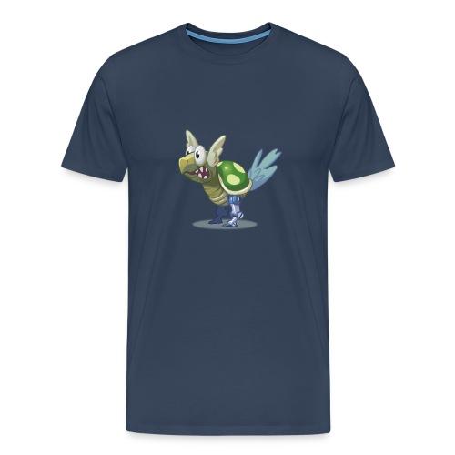 Puzzled Turtle Bird - Men's Premium T-Shirt