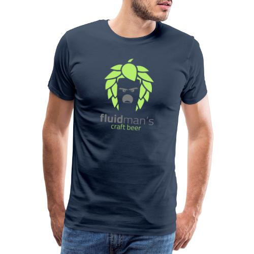 Fluidmans Craft Beer Logo - Männer Premium T-Shirt