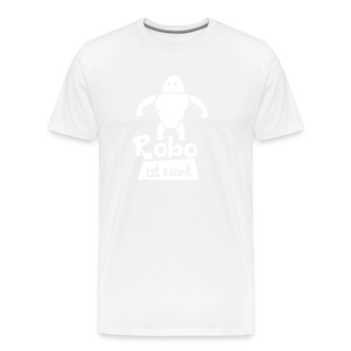 robot at work - Männer Premium T-Shirt
