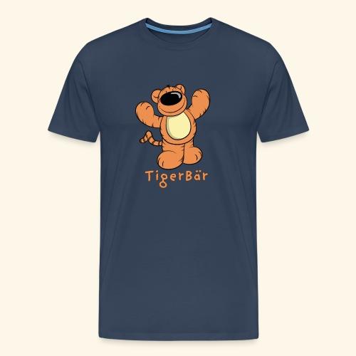 Tigerbär - Männer Premium T-Shirt