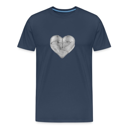 Corazon de hierro - Camiseta premium hombre