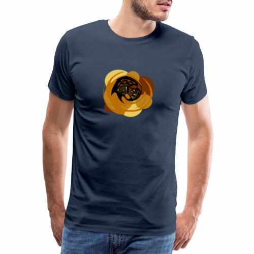 Leben ist wunderbar - Männer Premium T-Shirt