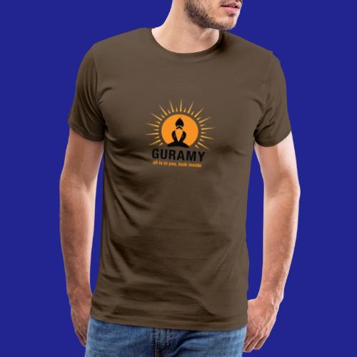 final nero con scritta - Men's Premium T-Shirt