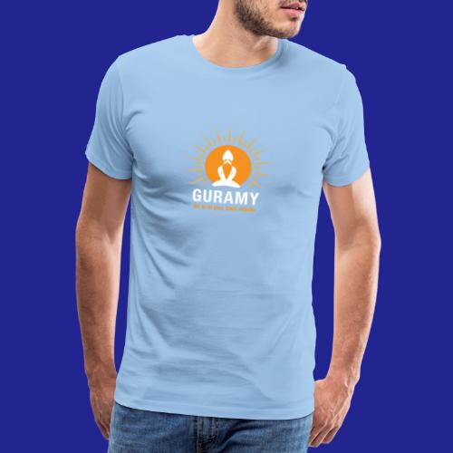 final white con scritta CORRETTO - Men's Premium T-Shirt