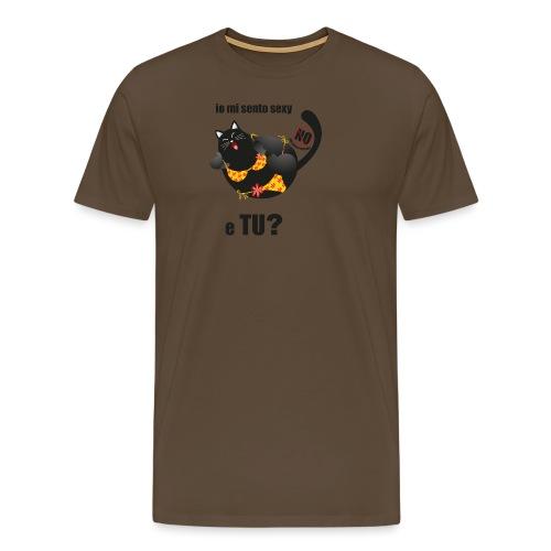 gattasexy - Maglietta Premium da uomo
