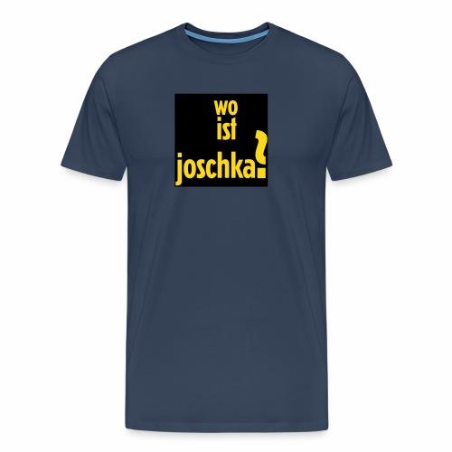 wo ist joschka? - Männer Premium T-Shirt
